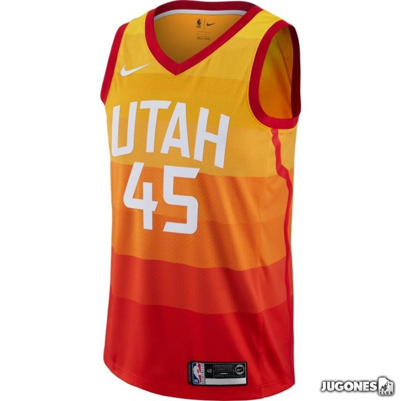 Camiseta NBA Utah Jazz Donovan Mitchell City Edition